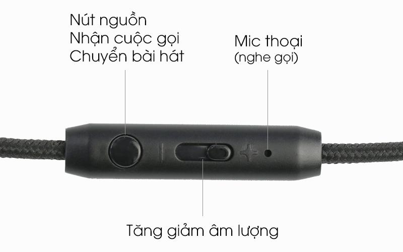 Tai nghe chụp tai Kanen IP-892 - Nút ấn tương tác tốt