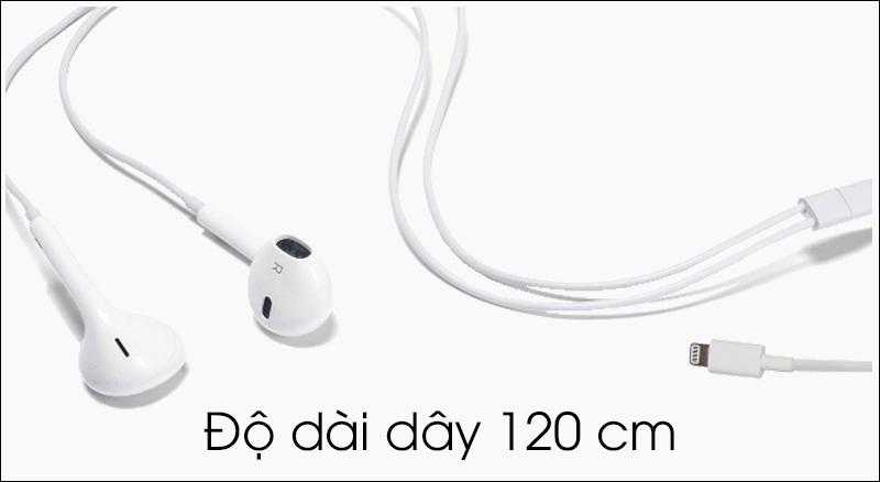 Tai nghe EarPods cổng Lightning Apple MMTN2 - Chiều dài dây 120 cm