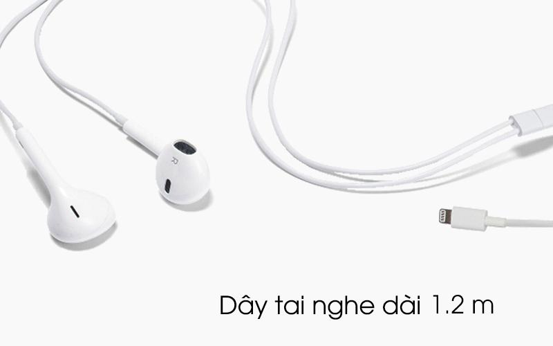 Tai nghe nhét trong EarPods Lightning Apple MMTN2 có chiều dài dây 1.2 m