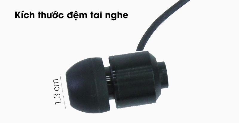 Tai nghe Bluetooth Roman Z6000 - Kích thước đệm tai nghe