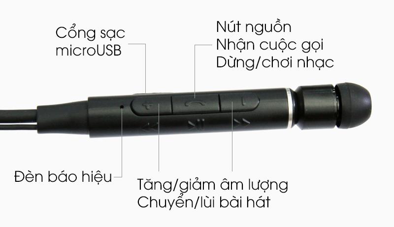 Tai nghe Bluetooth Roman Z6000 - Các sử dụng tai nghe