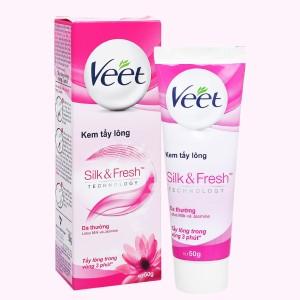 Kem tẩy lông Veet Silk & Fresh cho da thường 50g