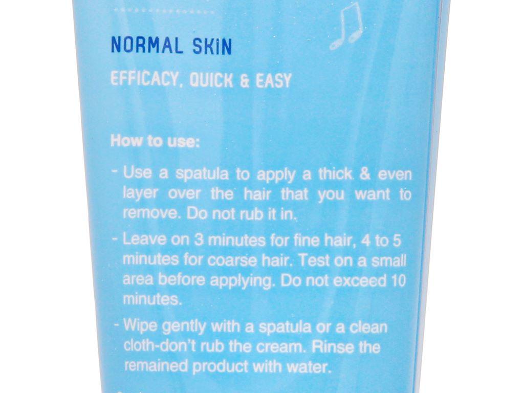Kem tẩy lông Cléo Avocado Hair Removal Cream cho da thường 50g 11