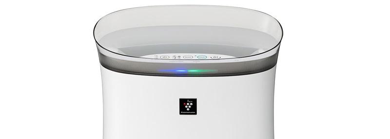 Tiện lợi với chế độ cảm biến bụi và đèn báo chất lượng không khí
