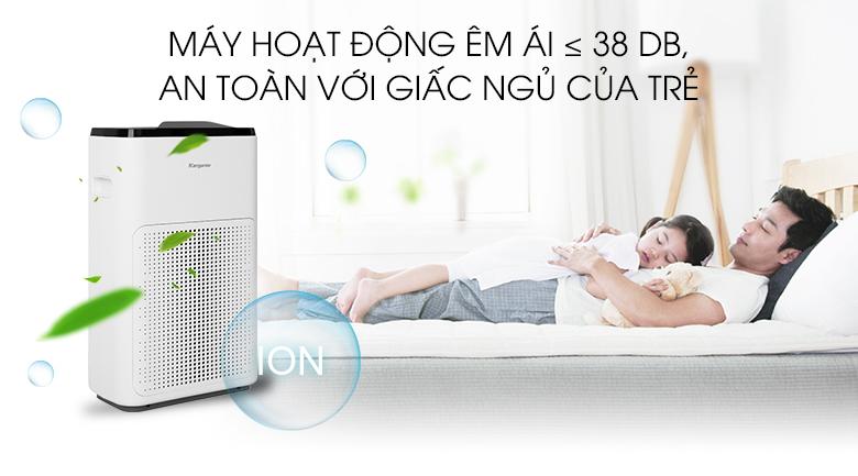 Bảo vệ sức khỏe gia đình - Máy lọc không khí Kangaroo KG38AP