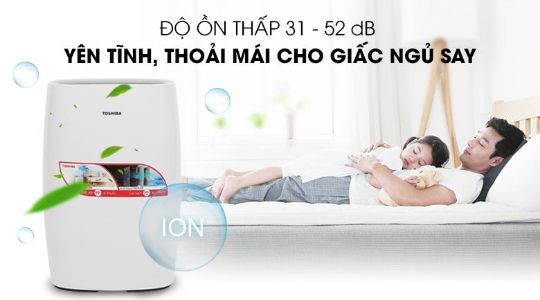 Độ ồn - Máy lọc không khí Toshiba CAF-N30(W)VN