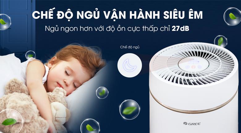Chế độ ngủ - Máy lọc không khí Gree GCF350ASNA