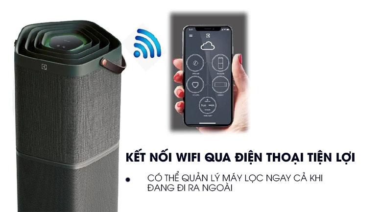Điều khiển Wifi  - Máy lọc không khí Electrolux PA91-406GY