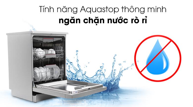 Tính năng Aquastop thông minh ngăn chặn nước rò rỉ - Máy rửa bát Bosch SMS46MI05E 2400W
