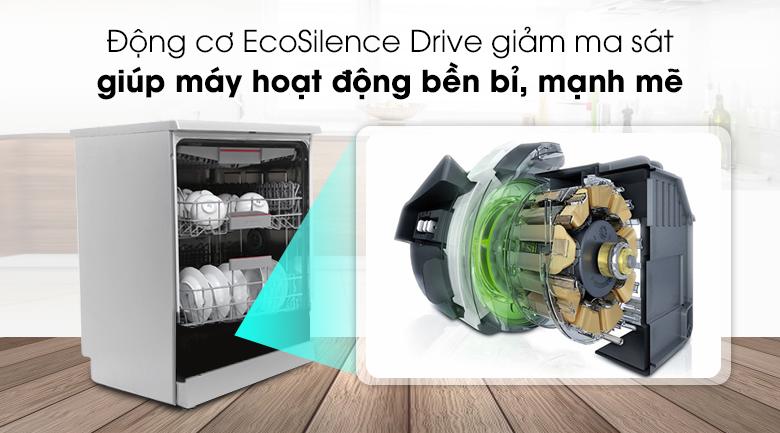 Máy rửa bát Bosch SMS46MI05E 2400W - EcoSilence Drive