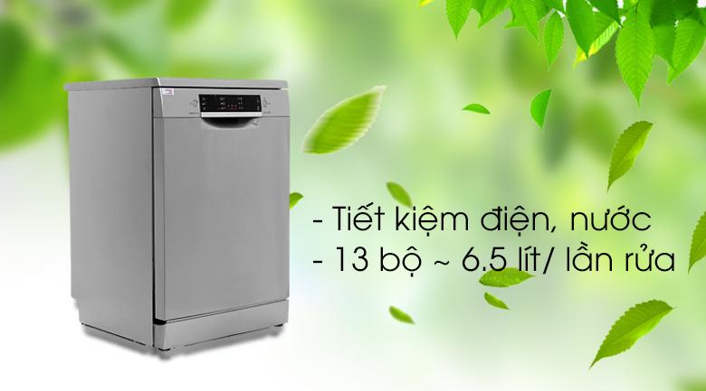 Máy rửa bát Bosch SMS46MI05E 2400W - Tiết kiệm năng lượng