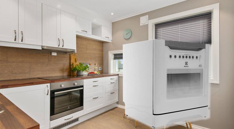 Máy rửa chén Electrolux ESF6010BW 1480W - Thiết kế