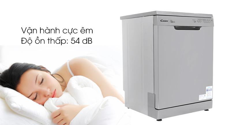 Máy rửa chén Candy CDP 1LS39X/T 2150W - Nhiều chương trình rửa chén đĩa khác nhau