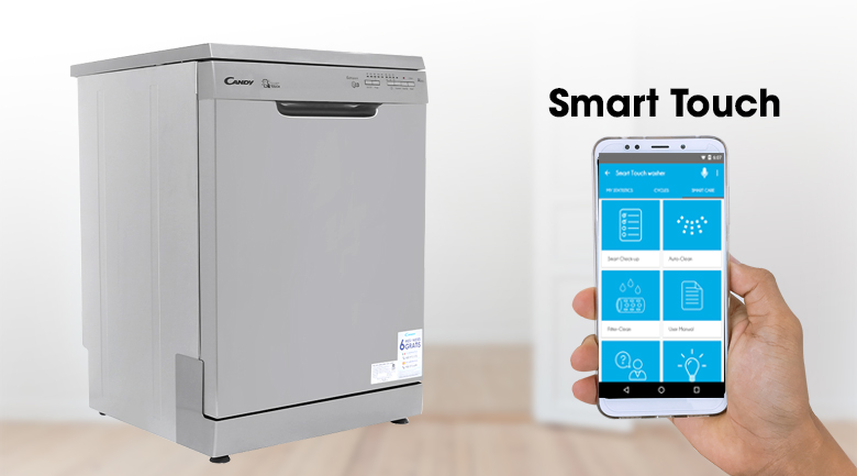 Máy rửa chén Candy CDP 1LS39X/T 2150W - Smart Touch