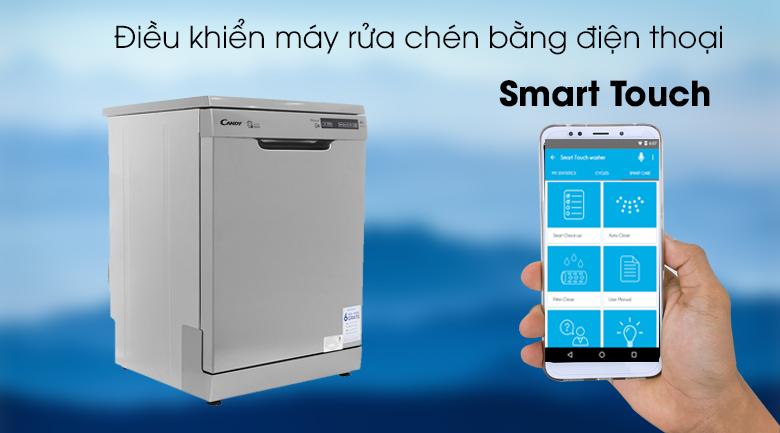 Máy rửa chén Candy CDP 2DS62X/T 2150W - Smart Touch