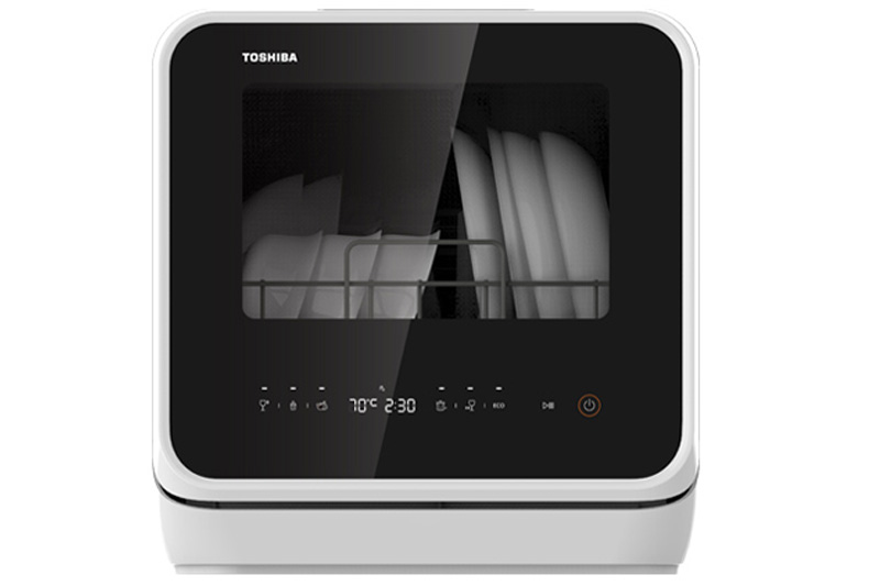 Máy rửa chén mini Toshiba DWS-22AVN K 730W