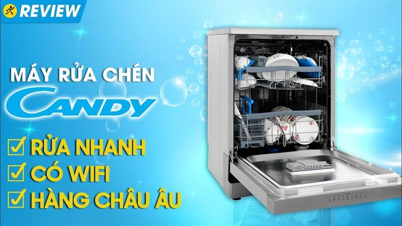 Máy rửa chén độc lập Có Sấy Candy CDPN 4D620PW