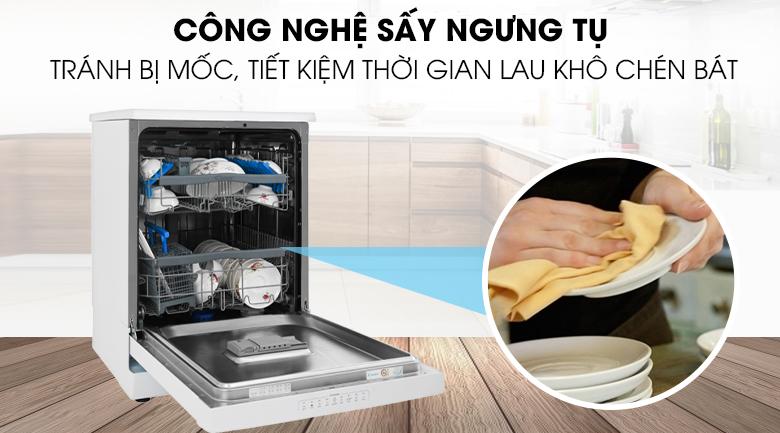 Công nghệ sấy - Máy rửa chén Candy CDPN 4D620PW