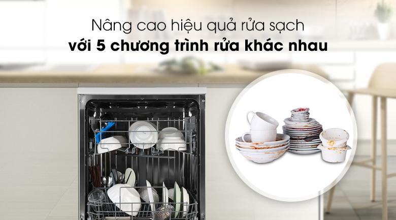 Máy rửa chén Candy CDPN 1L390PW 2150W - Nâng cao hiệu quả rửa sạch với 5 chế độ rửa khác nhau