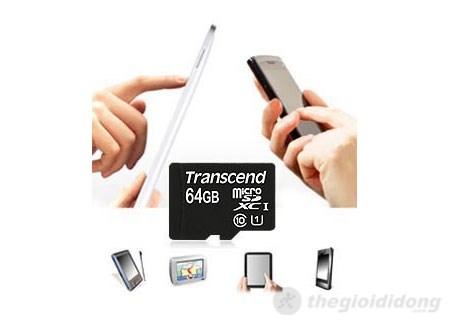 Thẻ nhớ Transcend - Thích hợp với các loại thiết bị số công nghệ cao