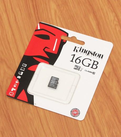 Thẻ nhớ Thẻ nhớ Micro 16GB class 10 Kingston