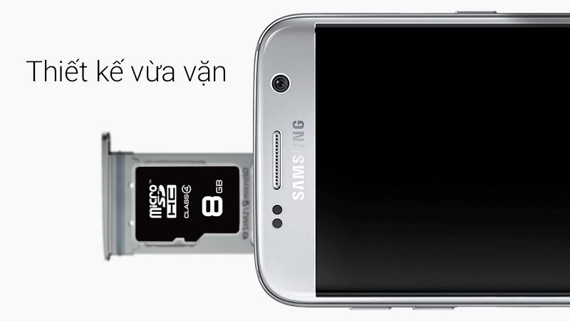 Thẻ nhớ MicroSD 8Gb Class 4 - Thiết kế để luôn vừa vặn với mọi thiết bị