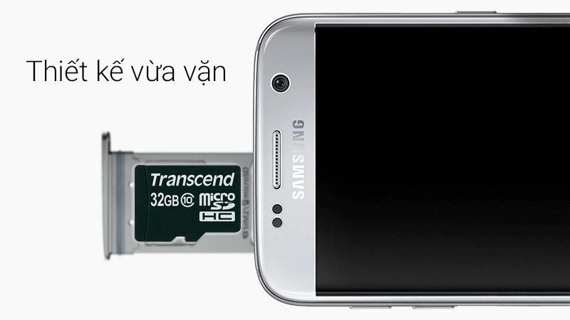 Thẻ nhớ MicroSD 32 GB class 10 - Thiết kế để luôn vừa vặn với mọi thiết bị (điện thoại, máy tính bảng... )