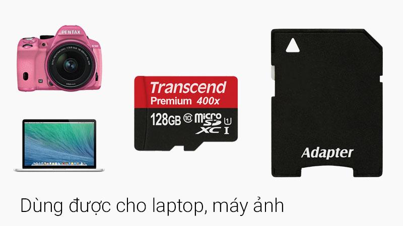 Thẻ nhớ MicroSD 128 GB Class 10 sử dụng được với nhiều thiểt bị