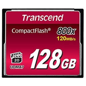 Thẻ nhớ CF 128 GB Transcend 800x