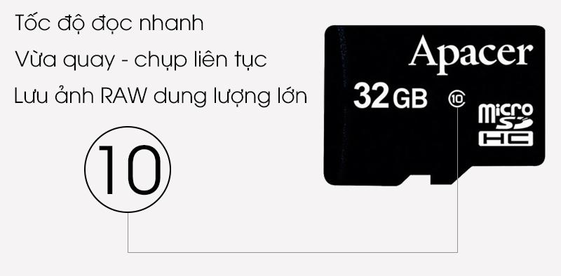 Thẻ nhớ MicroSD 32GB Apacer Class 10 UHS-1 - Thẻ nhớ Class 10