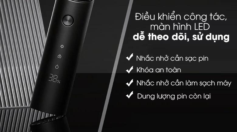 Máy cạo râu Xiaomi S500 NUN4131GL - Điều khiển bằng công tác