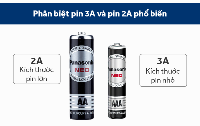 Pin AA 4 viên Manganese Panasonic R6NT-4B