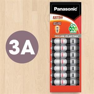 Pin AAA 12 viên Manganese Panasonic R03NT-12H Đen