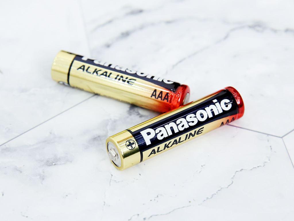 Vỉ 2 viên Pin tiểu AAA Panasonic Alkaline LR03T/2BPKV ( LR03T/2B-V) 5