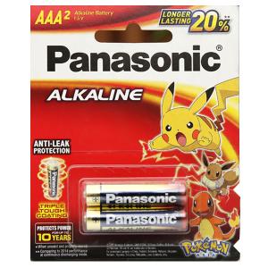Vỉ 2 viên Pin tiểu AAA Panasonic Alkaline LR03T/2BPKV ( LR03T/2B-V)