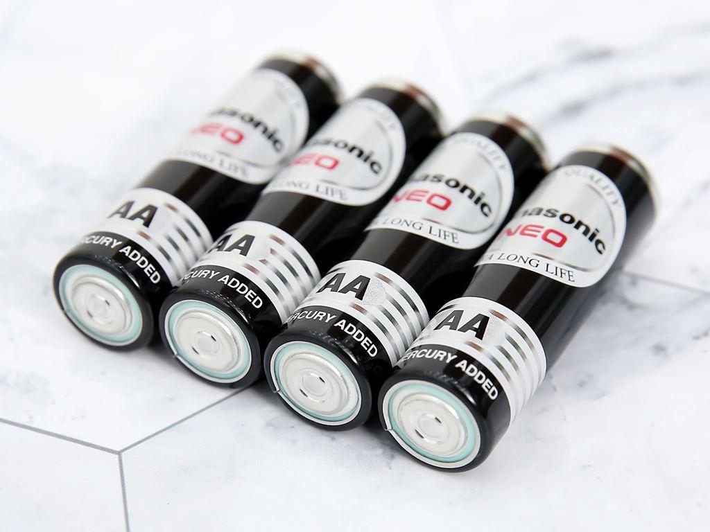 Vỉ 4 viên Pin tiểu AA Panasonic Manganese R6NT/4B-V 4