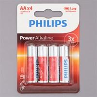 Pin AA 4 viên Alkaline Philips LR6P4B