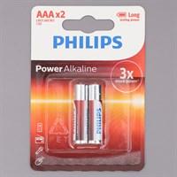 Pin AAA 2 viên Alkaline Philips LR03P2B