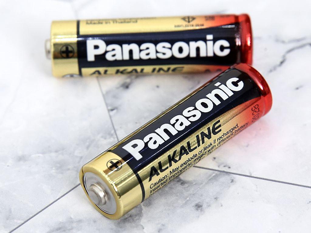 Vỉ 2 viên Pin tiểu AA Panasonic Pana Alkaline LR6T/2B-V 4