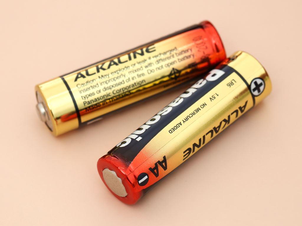 Vỉ 4 viên Pin tiểu AA Panasonic Alkaline AA LR6T/4B-V (LR6T/4B) 10