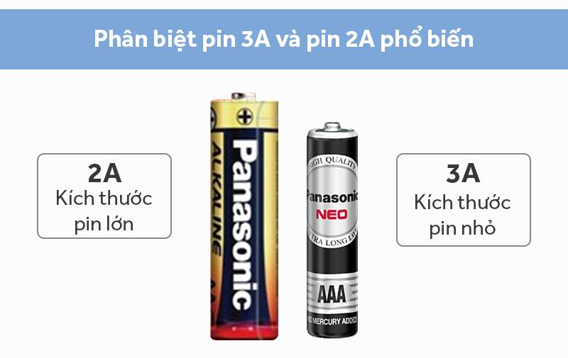 Pin AA 2 viên Panasonic Alkaline LR6T/2B-V   Thegioididong.com