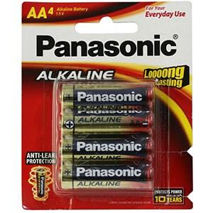 Pin AA 4 viên Panasonic Alkaline LR6T-4B-V