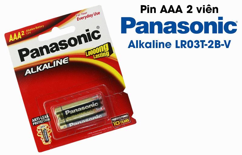 Pin tiểu AAA Panasonic 1.5V MANGANESE R03NT/2B-V