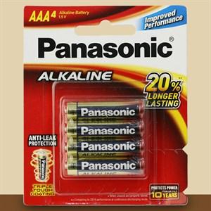 Pin AAA 4 viên Panasonic Alkaline LR03T-4B-V