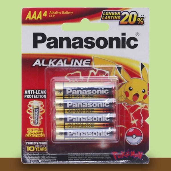 Pin AAA 4 viên Panasonic Alkaline LR03T-4BPKV