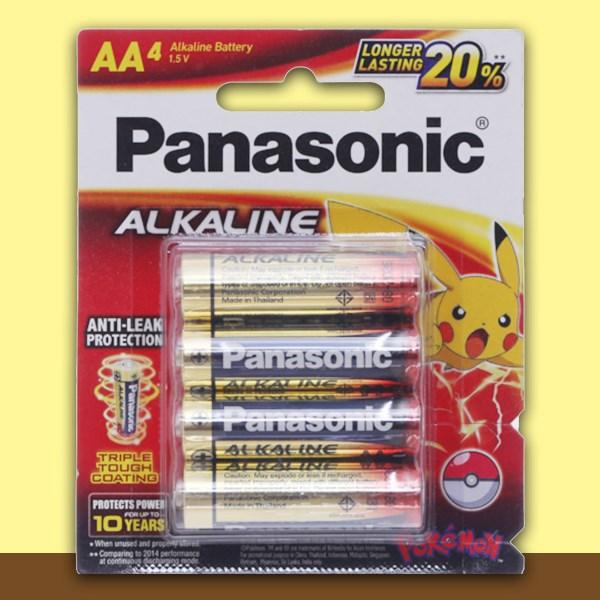 Pin AA 4 viên Panasonic Alkaline LR6T-4BPKV