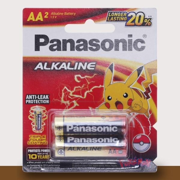 Pin AA 2 viên Panasonic Alkaline LR6T-2BPKV
