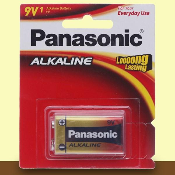 Pin 9V 1 viên Panasonic Alkaline 6LR61T-1B-V
