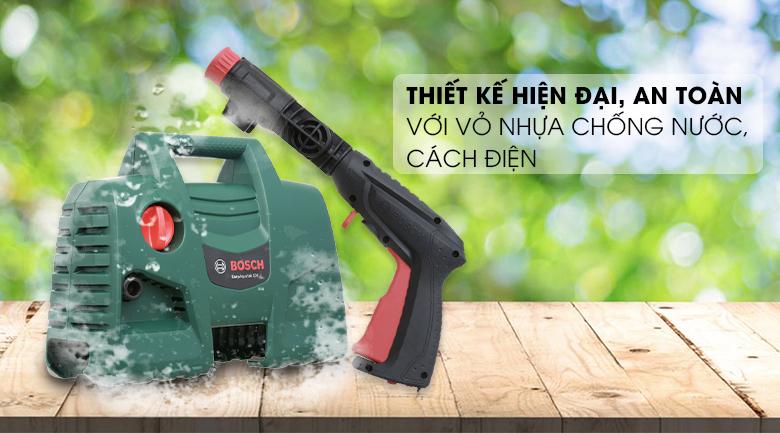 Thiết kế nhỏ nhẹ - Máy phun xịt rửa áp lực cao Bosch Easy AQT 100
