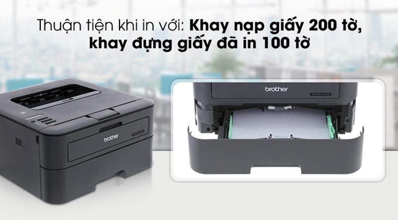 Khay đựng giấy - Máy in Laser Brother HL-L2366DW Wifi